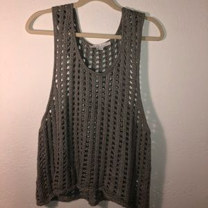 Revolve Callahan holey cotton tank